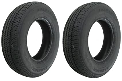 Amazon Com Ecustomrim 2 Pack Radial Trailer Tires 391 St205 75r14