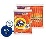 Ace Detergente En Polvo Ace Uno Para Todo 4.5kg, 6 Unidades De 750g, color, 1 count, pack of/paquete de
