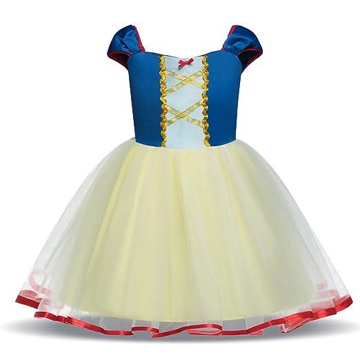 2b9bc8da5a TTYAOVO Girl Sleeveless Chiffon Princess Dress up Costume for Baby Girls  Size 12-24 Months