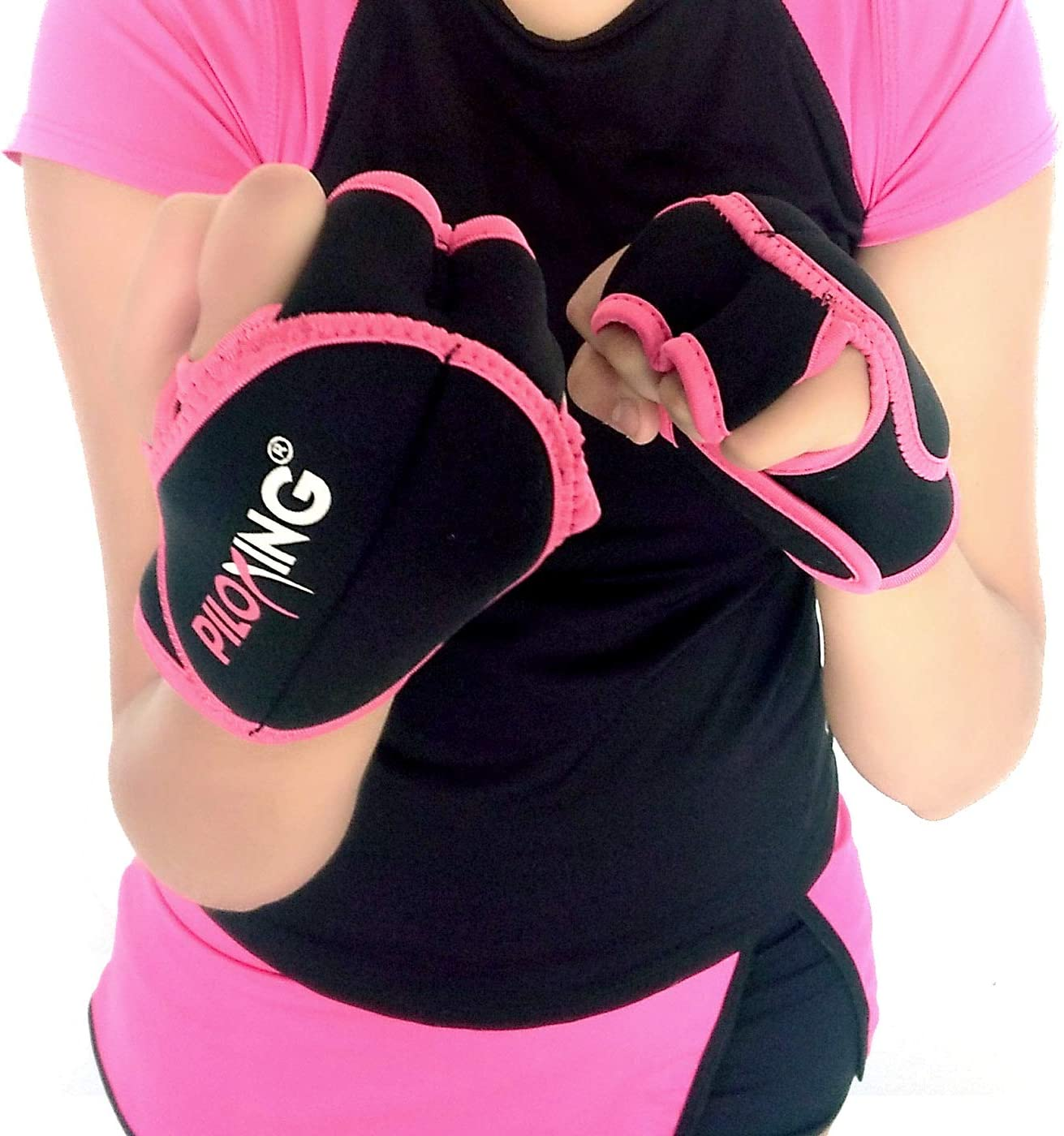 PILOXING 1//2 lb Weighted Gloves