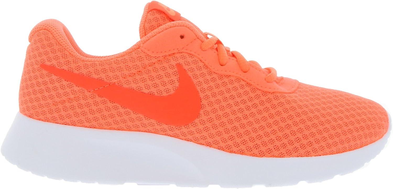 Nike Wmns Tanjun, Zapatillas para Mujer, Multicolor Bright Mango Brght Crmsn White, 37 1/2 EU: Amazon.es: Zapatos y complementos