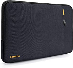tomtoc 360 Protective Sleeve for 15.6 Inch Acer Aspire E 15 and HP Dell Asus Lenovo Samsung Laptop Chromebook, Shockproof Spill-Resistant Notebook Bag Case with Accessory Pocket