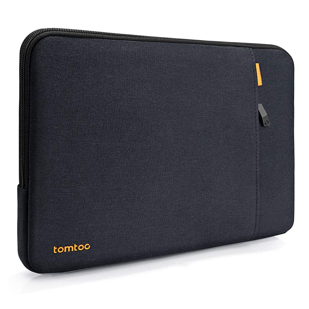 tomtoc 360° Protective Laptop Sleeve Compatible with 2018 New MacBook Air 13-inch with Retina Display | 13 inch New MacBook Pro A1989 A1706 A1708, Notebook bag with Accessory Pocket for USB-C Devices