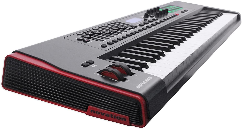 Amazon.com: Novation IMPULSE 61-Key Ableton Live Keyboard ...