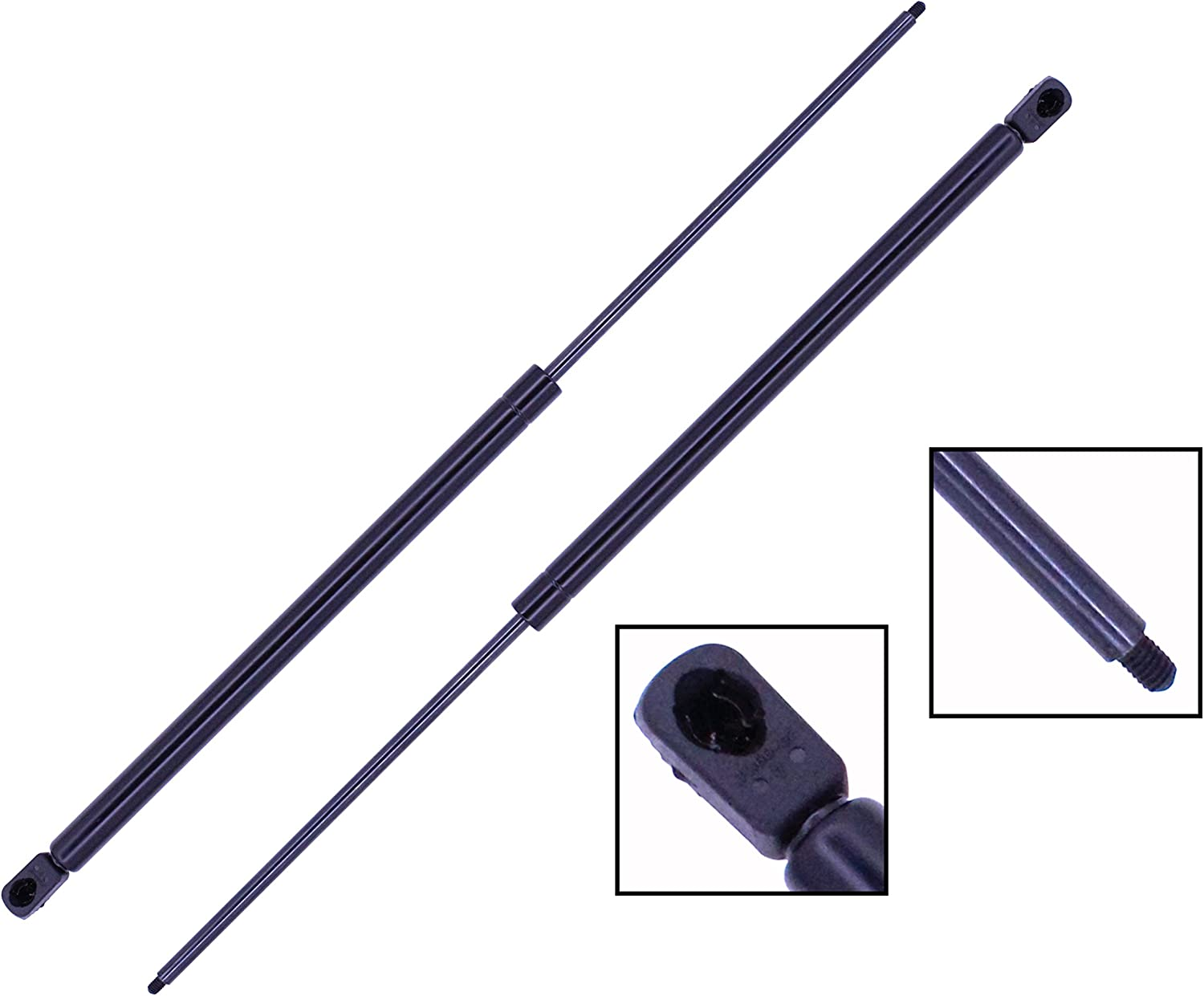 New Liftgate glass Lift Supports Pack Set of 2 Rear Driver /& Passenger Side