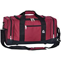 Everest Sporty Crossover Duffel Bag, Burgundy, One Size