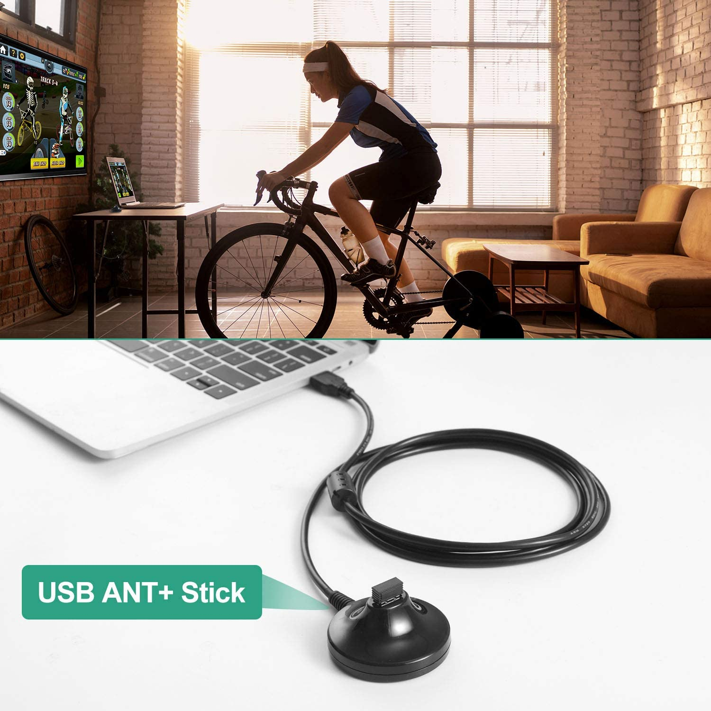 CooSpo USB Ant+ Adaptador de Palo Dongle USB transmisor Receptor ...