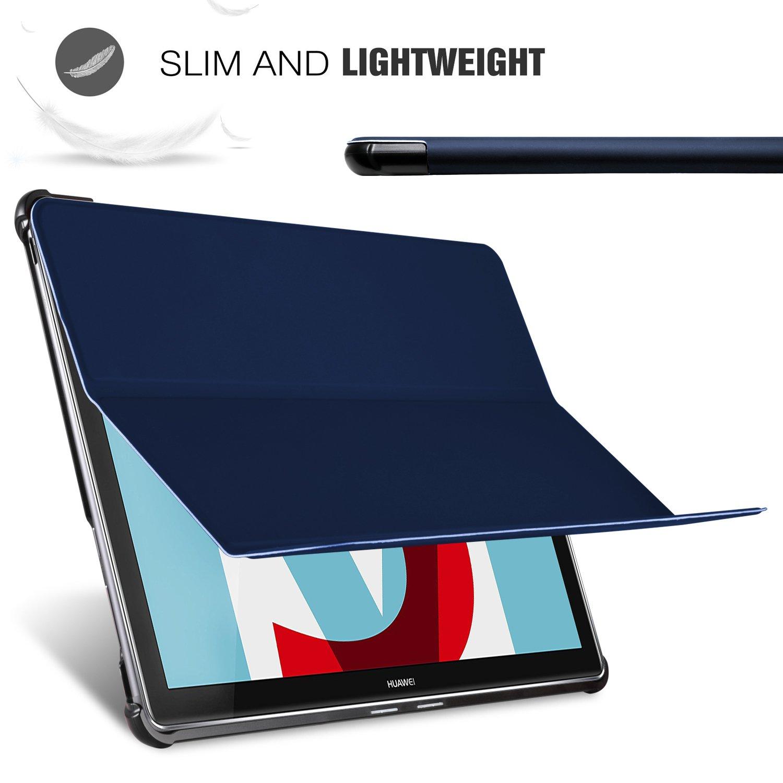 Slim Smart Cover Custodia Protettiva in pelle PU per Huawei ...