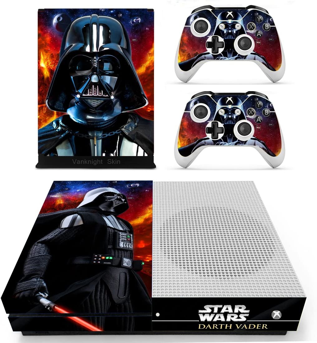 Faceplates, Decals & Stickers Video Games & Consoles Reliable Xbox One X Darth Vader Skin Sticker Console Decal Vinyl Xbox Controller