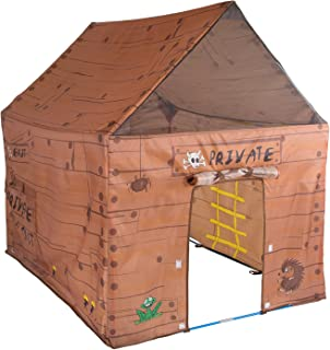 Pacific Play Tents Kids Club House Tent Playhouse for Indoor / Outdoor Fun - 50   sc 1 st  Amazon.com & Amazon.com: Pacific Play Tents Kids My First Garage Cotton Canvas ...