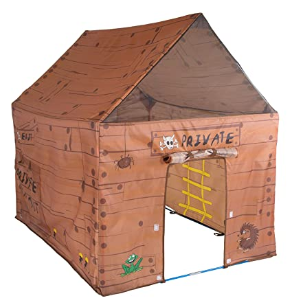 Pacific Play Tents Kids Club House Tent Playhouse for Indoor / Outdoor Fun - 50u0026quot;  sc 1 st  Amazon.com & Amazon.com: Pacific Play Tents Kids Club House Tent Playhouse for ...