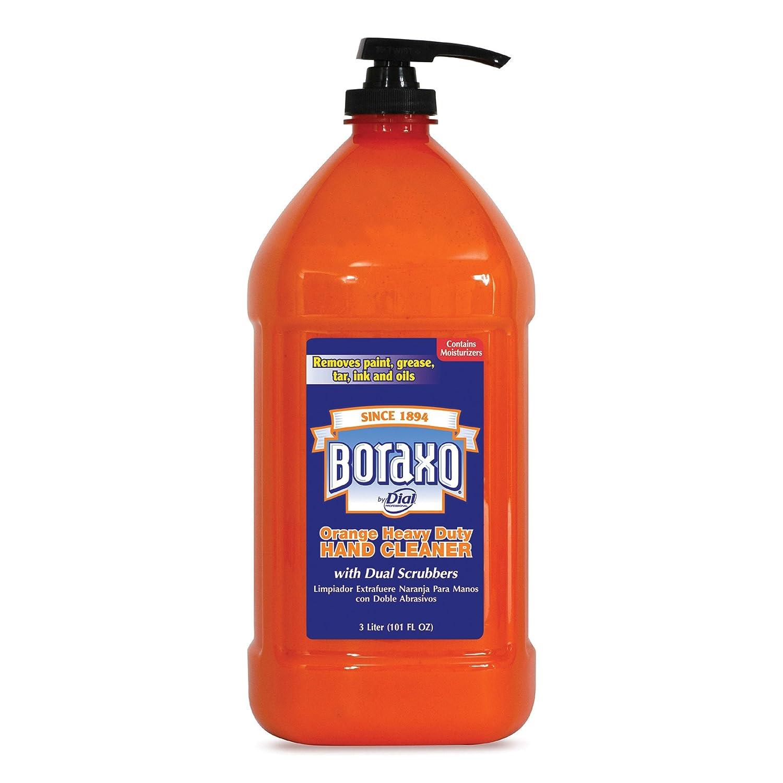 Boraxo 06058CT Orange Heavy Duty Hand Cleaner, 3 Liter Pump Bottle (Case of 4)