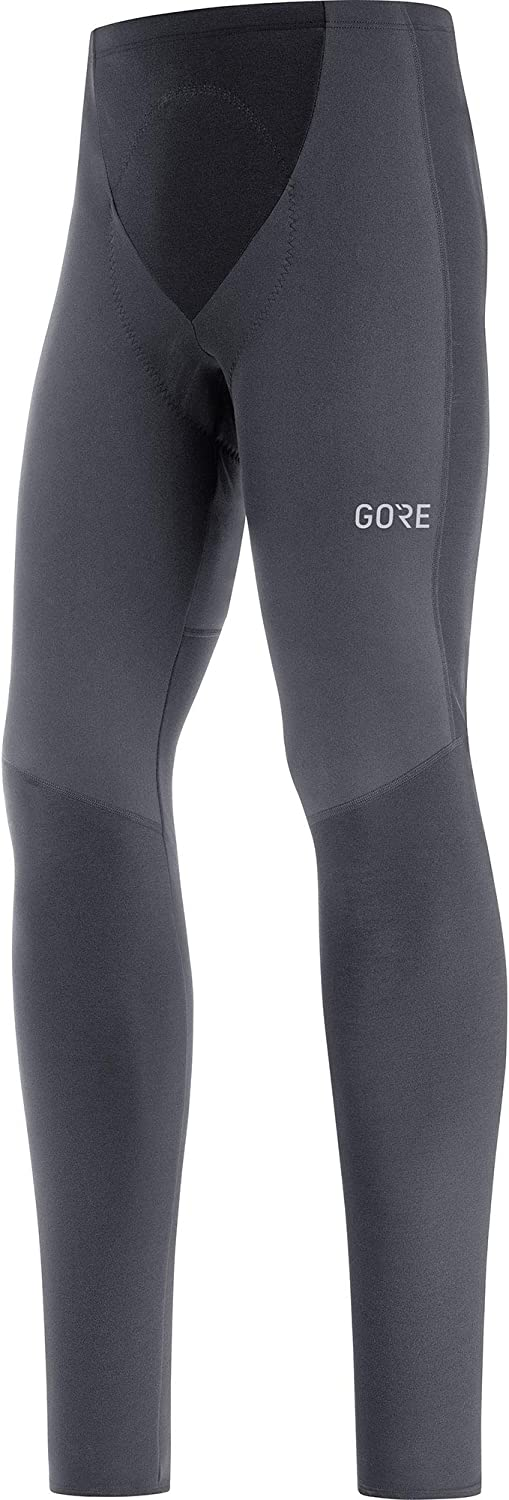 GORE WEAR Men's Thermo Cycling Tights with Seat Pad, C3, Partial Gore-TEX INFINIUM