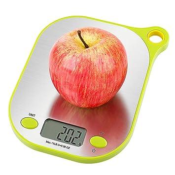 Aicok Báscula Digital para Cocina de Alimentos y líquidos con ...