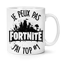 Mug Fortnite je peux pas j'ai TOP1 - Kanto Factory -