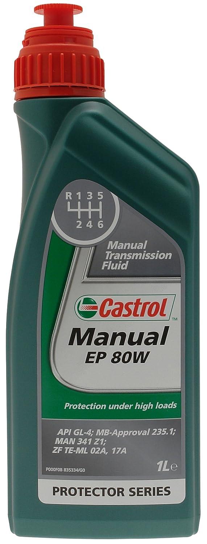 Castrol 18977160 Fluide de transmission EP 80W pour boî te manuelle 1 l Castrol Limited 1504A7
