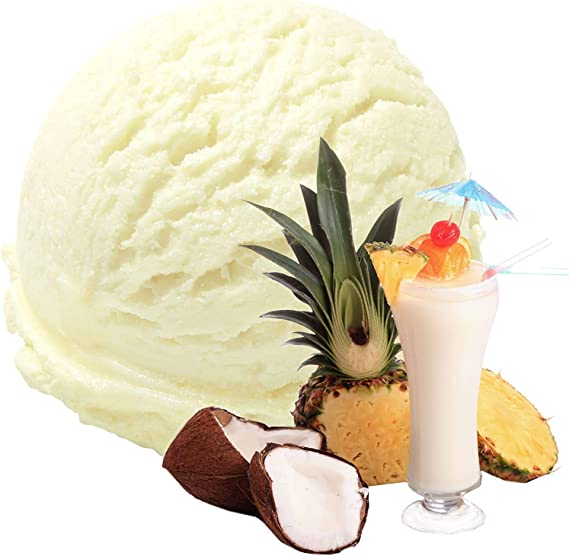 Caramel Flavor 1 Kg Gino Gelati Ice Cream Polvo de leche Ice Cream Powder Ice Cream Powder