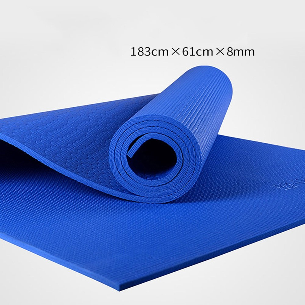Anti-Rutsch-Yoga-Matte --- Natürlicher Gummi Hochtemperatur Anti-Rutsch Umweltschutz Yogamatte, Farbe Optional --- Naturkautschuk Yoga-Matte, für Training   Pila