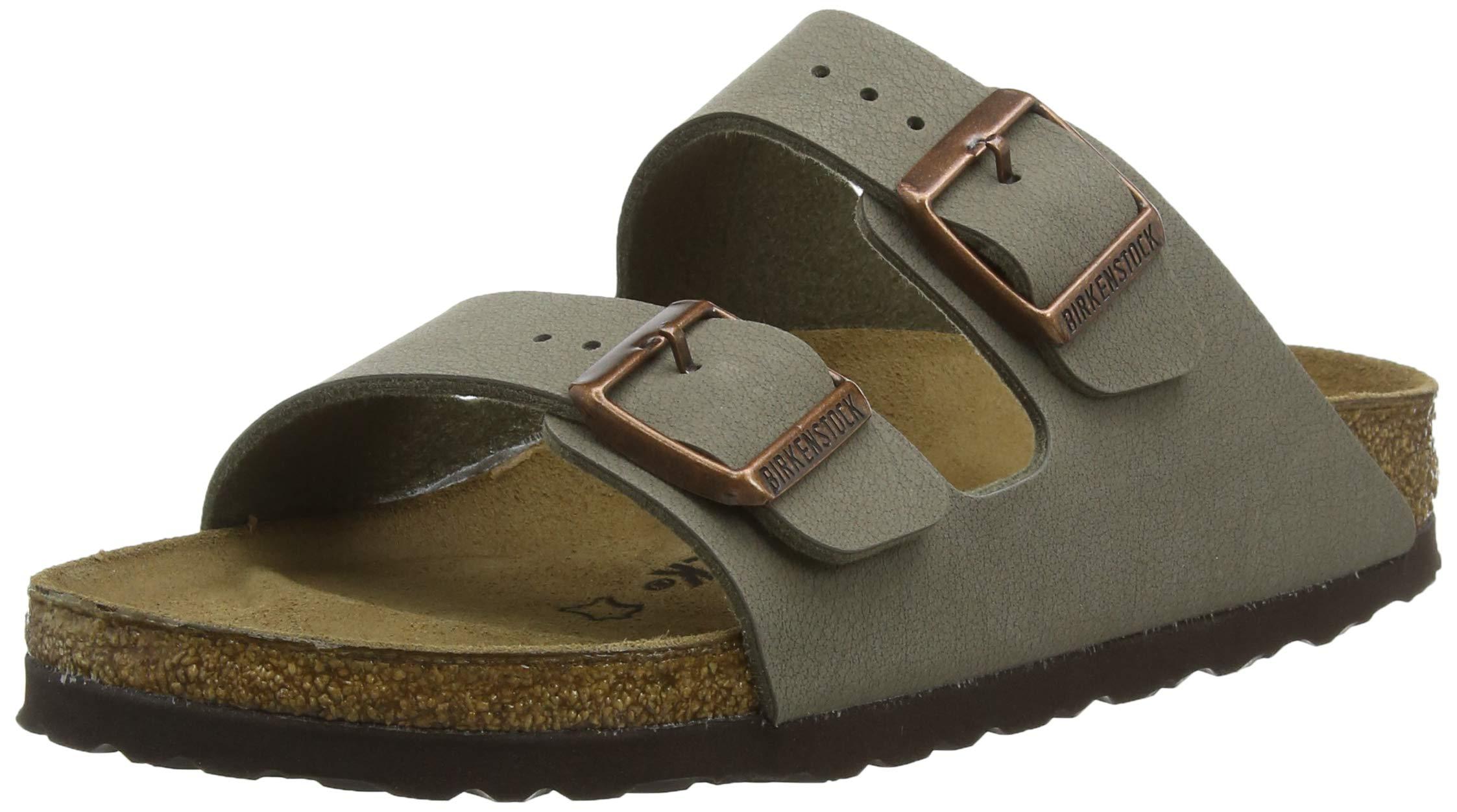 Birkenstock Unisex Arizona Stone Sandals - 45 EU Narrow