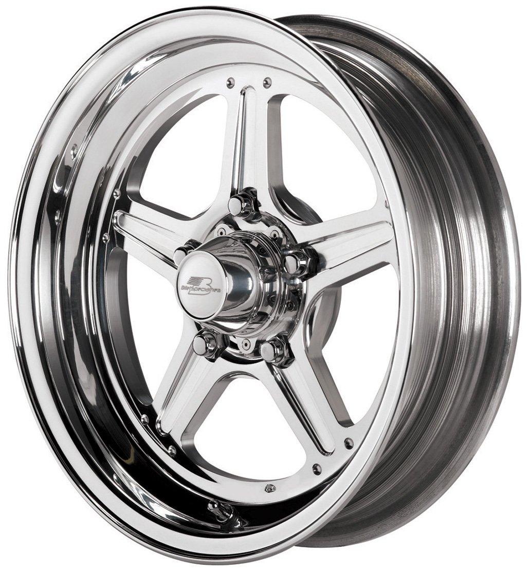 Billet Specialties Street Lite Polished - 15 x 3.5 Inch Wheel by Billet Specialties (Image #1)