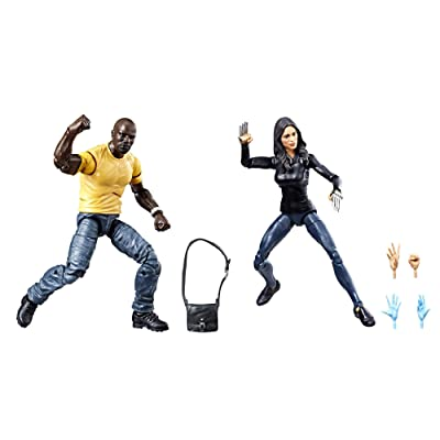 Marvel Legends Luke Cage & Claire Temple 2 Pack Exclusive: Toys & Games