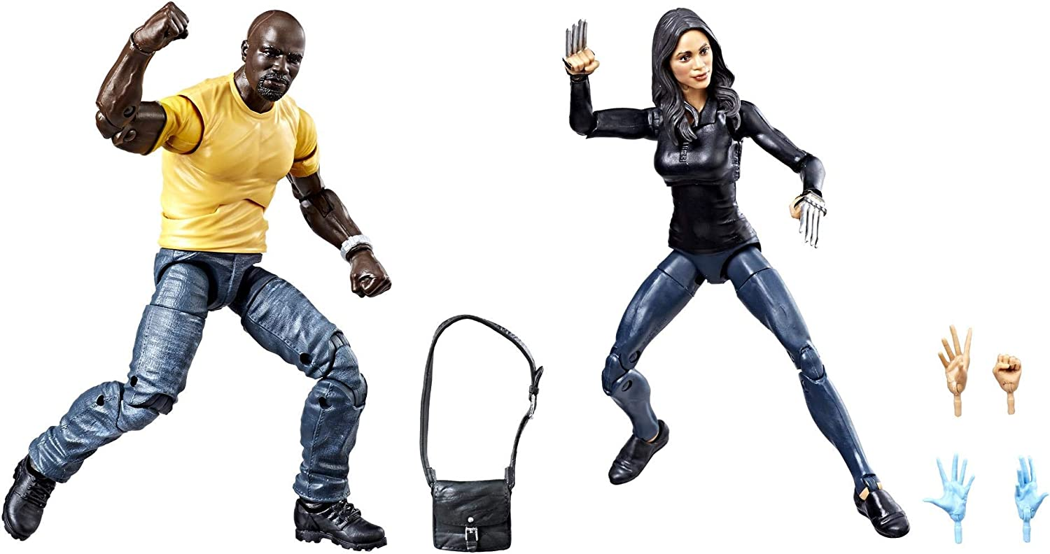 Marvel Legends Luke Cage /& Claire Temple 2 Pack Exclusive SG/_B07HDDK7Z9/_US