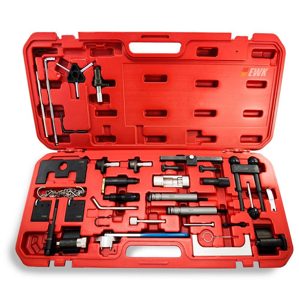 EWK Camshaft Locking Timing Belt Tensioner Cambelt Change Replacement Tool for Audi VW Skoda Petrol Diesel Engine