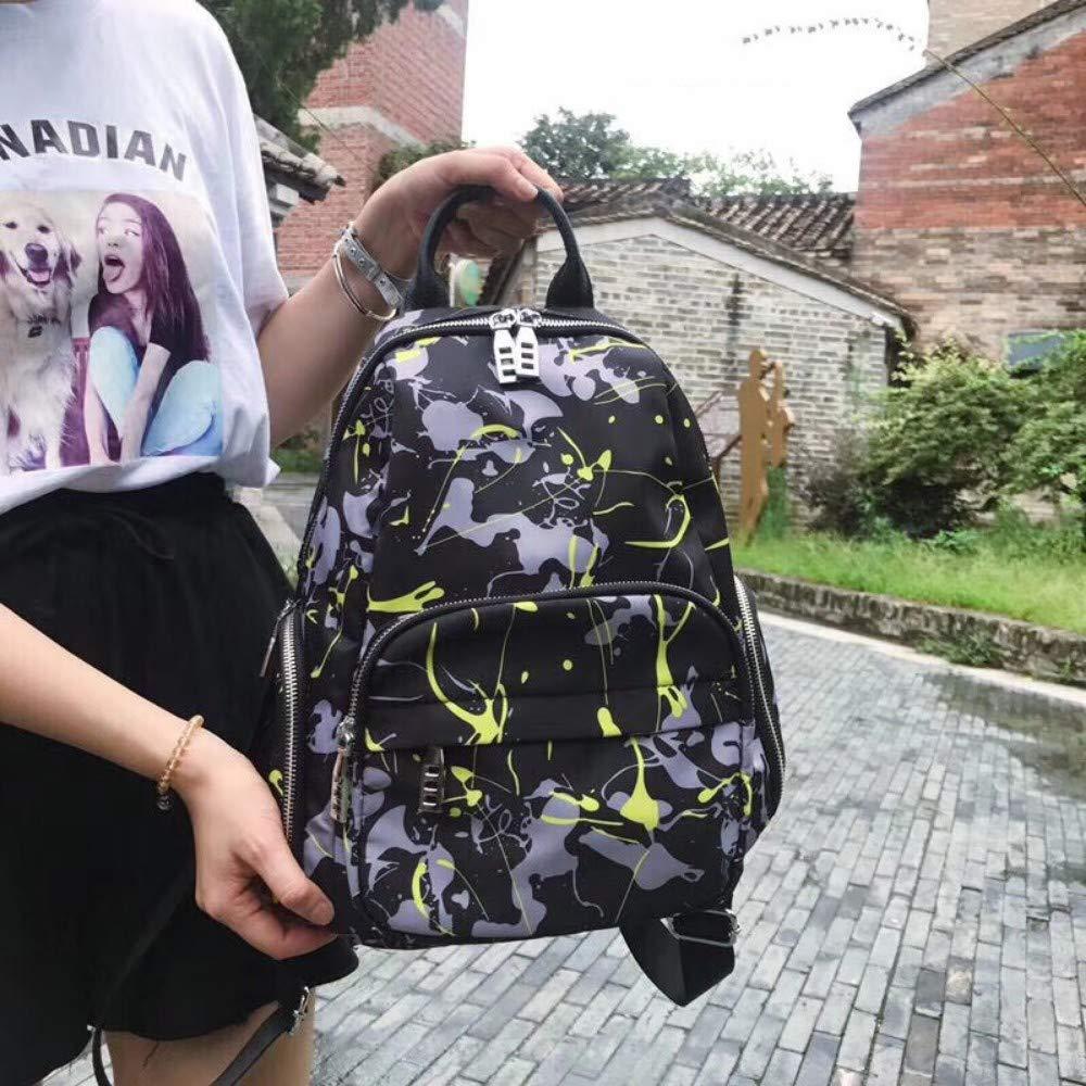 Neue Wilde Oxford Tuch Tasche Umhängetasche Multi-Pocket tragbare Doppel zurück weibliche Tasche Licht Wasserdichte Reise Backpackbags Frauen B07PLCY83B Damenhandtaschen Ruf zuerst