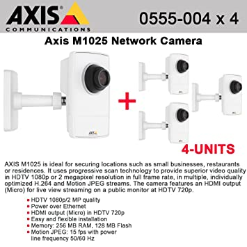 AXIS M1025 Network Camera Drivers (2019)