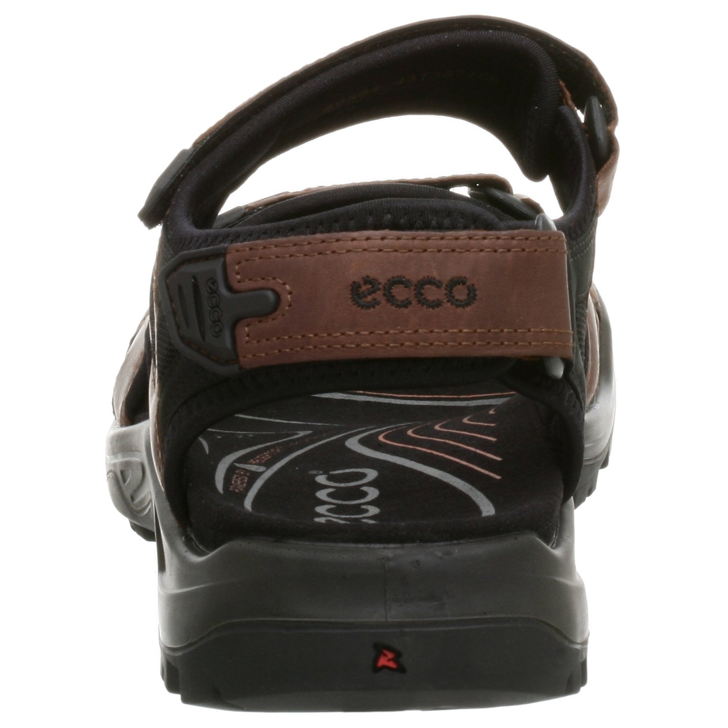 ECCO Men's Yucatan Sandal,Bison/Black/Black,44 EU (US Men's 10-10.5 M) by ECCO (Image #2)