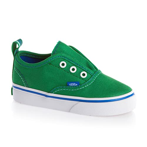 Vans Authentic, Zapatillas De Lona Infantil, Verde (Green), 25 EU