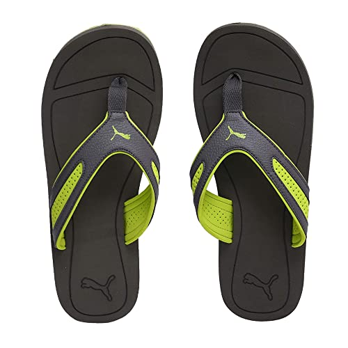 Asphalt-Safety Yellow Sandals