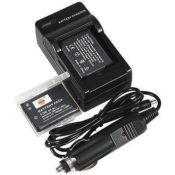 Amazon.com: DSTE 2 x np-bj1 batería + DC109 de viaje y ...