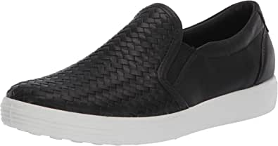 ECCO Womens Soft 7 Woven Slip on Ii