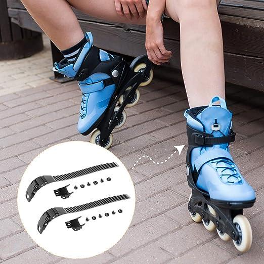 2 Set Durable Inline Roller Skate Shoes