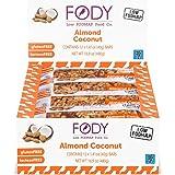 FODY - Low FODMAP Almond Coconut Snack Bars 40g (1.41oz) (Box of 12)