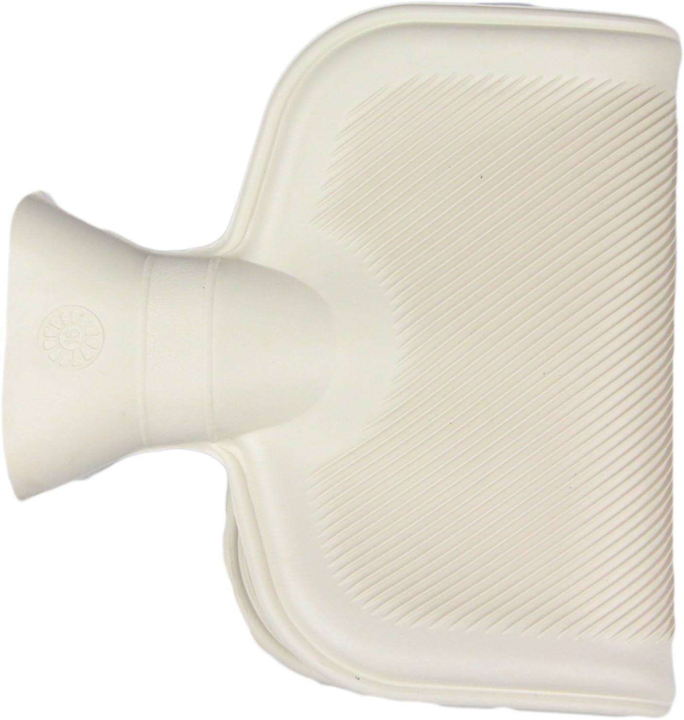 PoundSaver/® Large 2L Hot Water Bottle Natural Warmer Rubber
