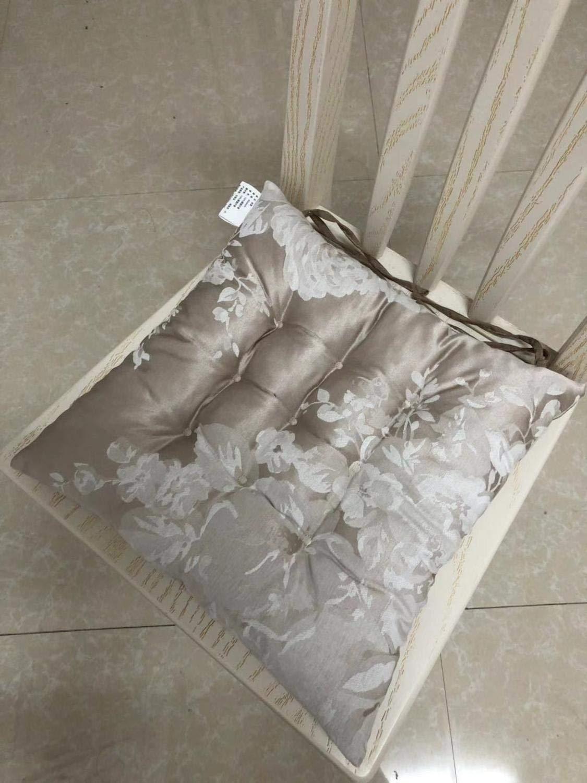 Rocking Chair Cushions - Chair Cushion Mat Pad,Comfortable Seat Cushion Pad,40x40cm Home Decor Throw Pillow Floor Cushions (7) by fumak