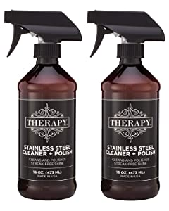 Therapy Premium Stainless Steel Cleaner & Polish 16 oz. (2 Pack)