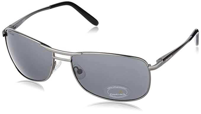 3f282c37a0 Image Unavailable. Image not available for. Colour  Fastrack Semi-Rimless  Men s Sunglasses ...