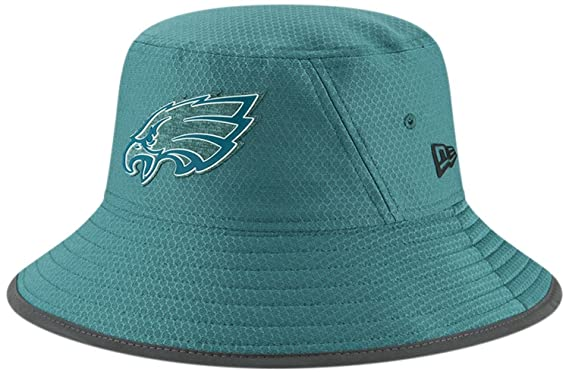 Philadelphia Eagles New Era 2018 Training Camp Primary Bucket Hat Green ff5f07431f7