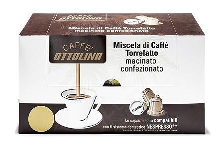 Otto Lina Cápsulas 60 unidades) apto para la cafetera Nespresso ...