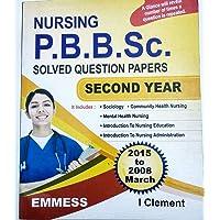 NURSING P.B.B.SC SOLVED QUESTION PAPER 2ND YEAR