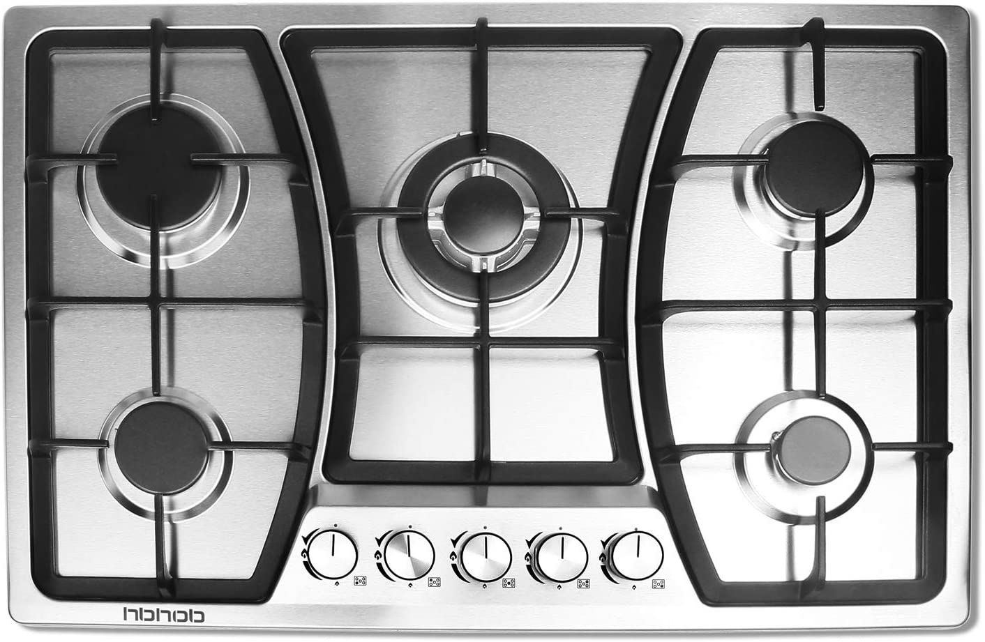 30 inches Gas Cooktop 5 Burners Gas Stove gas hob