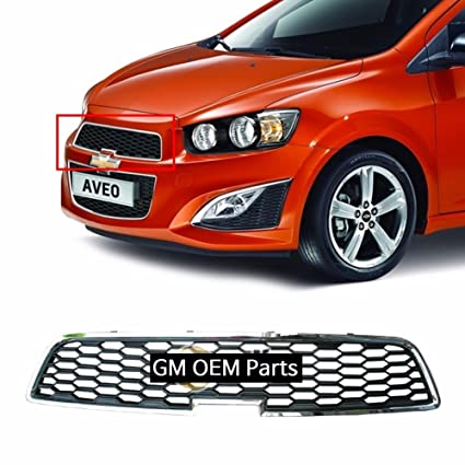 Front Radiator Upper Grille For GM Chevrolet Sonic RS Turbo 2013+ OEM Parts