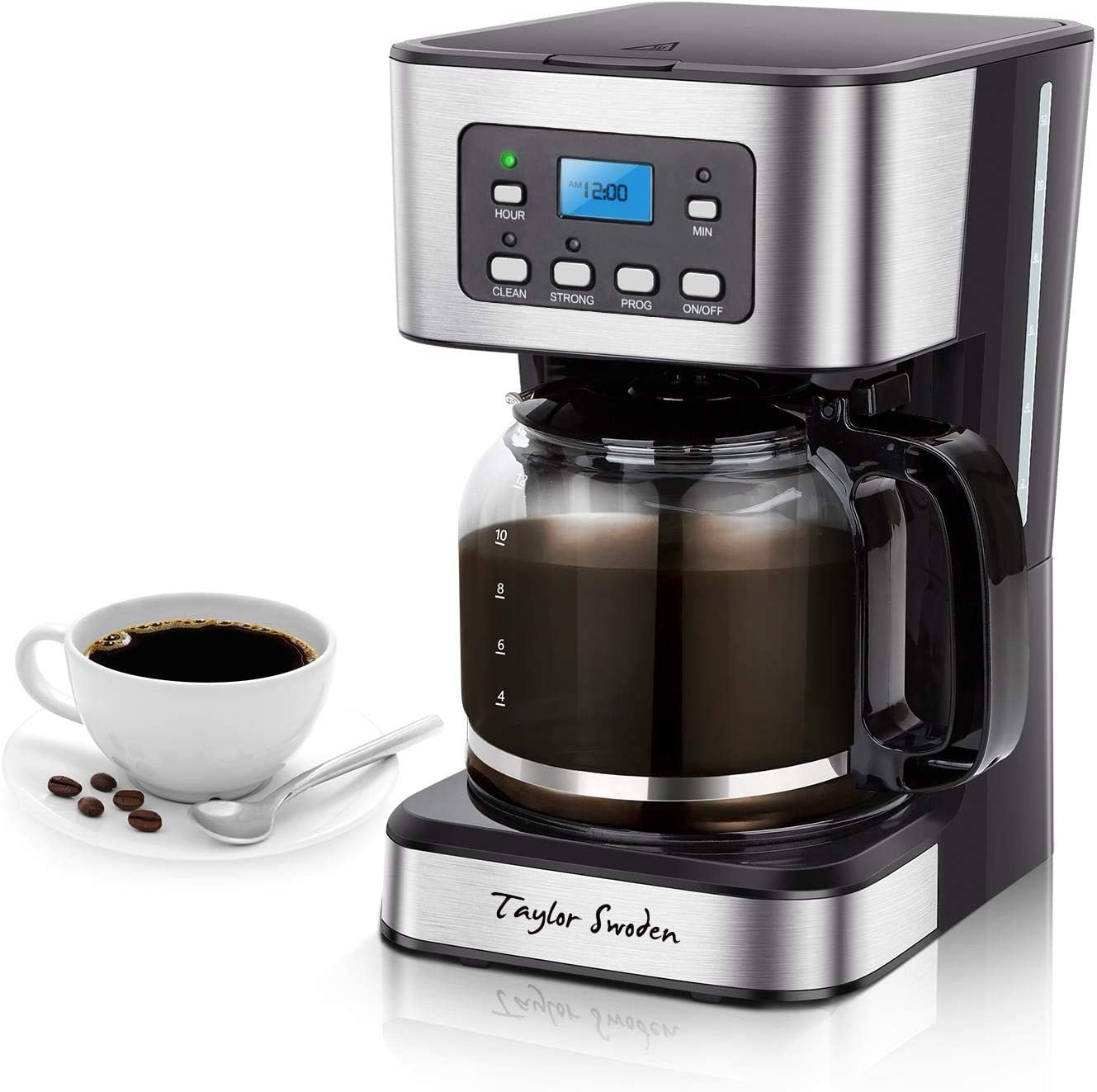 Programmable Coffee Maker 4-12 latest Cups Gl Drip Purchase Machine with