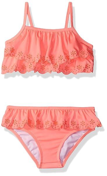 3cd5906e513fe Amazon.com: Crazy 8 Toddler Girls' Layered Ruffle Two-Piece Swimsuit:  Clothing