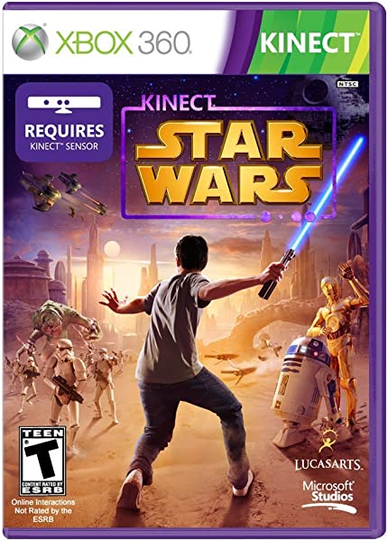 Kinect Star Wars - Xbox 360: Disney Interactive     - Amazon com
