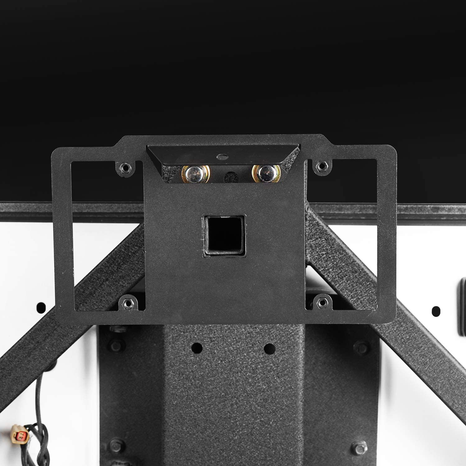 u-Box Spare Tire License Plate Mounting System for Jeep Wrangler TJ /& JK 97-18