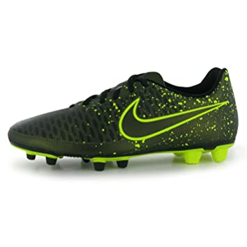 Nike Magista Ola FG Firm Ground Football Boots Mens Citron/Volt Soccer  Cleats (UK8
